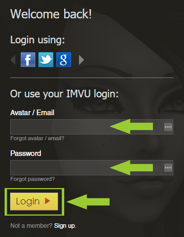 List of Synonyms and Antonyms of the Word: Imvu Login