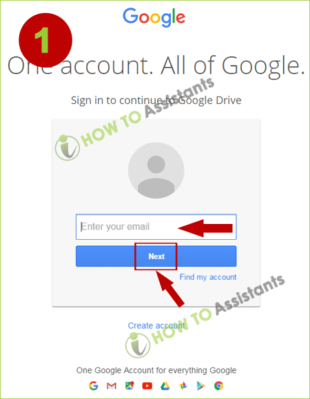 How To Login To My Google Drive Account Howtoassistants
