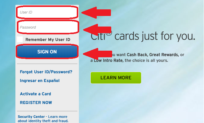 How to Login to My Citi Credit Card Account - HowToAssistants com